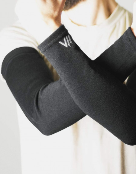 Merino Wool Arm Warmers for cycling