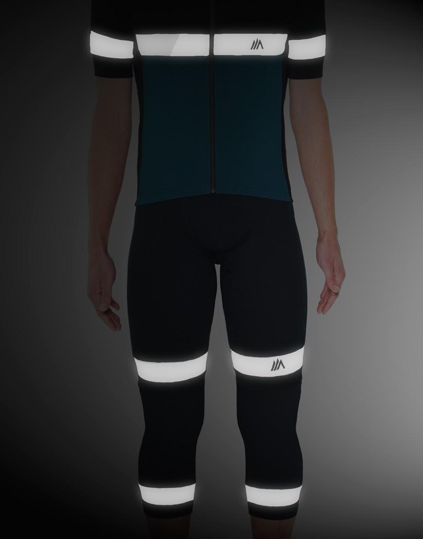 Perneras cortas de ciclismo fabricadas en España con 100% lana merino