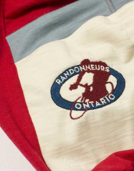 Randonneurs Ontario Custom Merino Wool Cycling Jersey