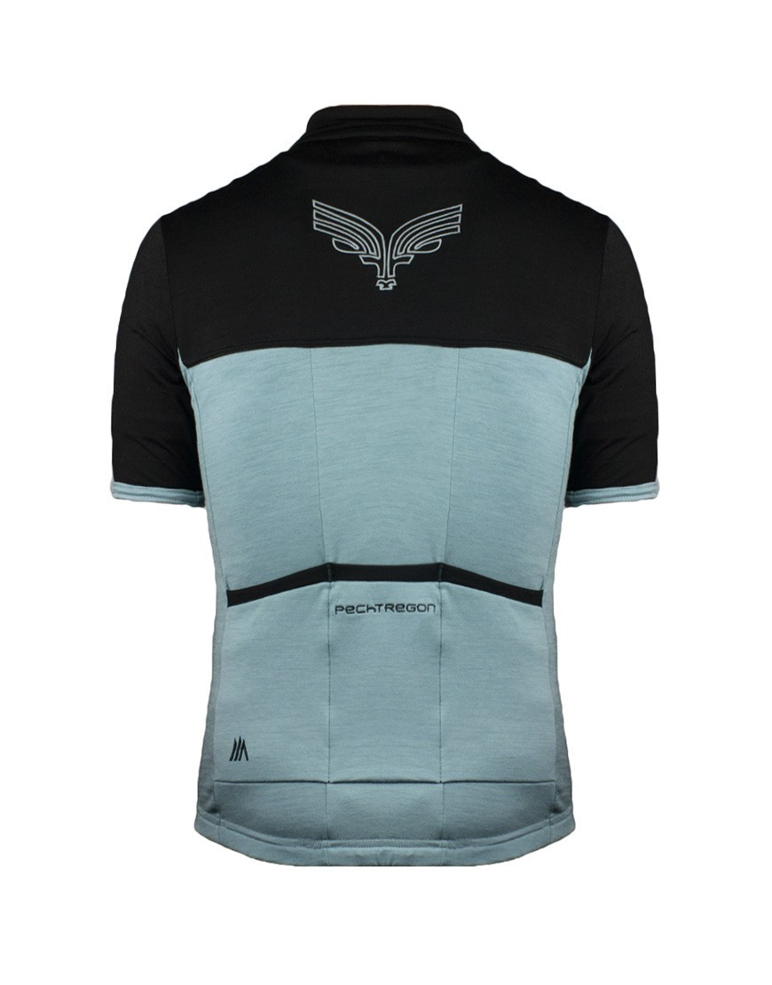 Pechtregon Custom Merino Wool Cycling Jersey