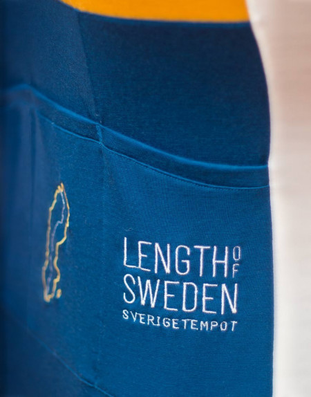 Maillot personalizado de ciclismo en lana merina Sverigetempot