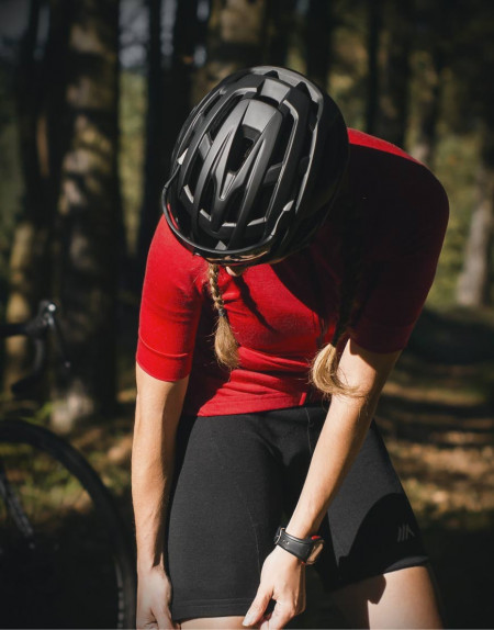 Merino wool cycling shorts for women