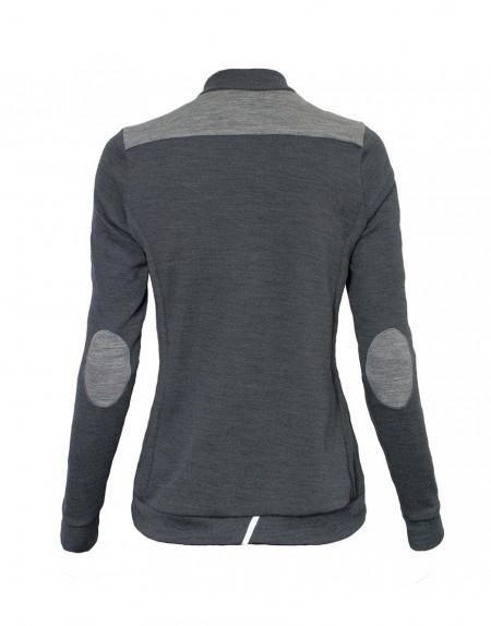 Women's Merino Thermal Jersey - dark grey